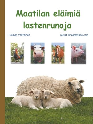 cover image of Maatilan eläimiä