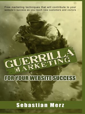 cover image of Guerilla Marketing for your Website Success