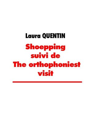 cover image of shoepping suivi de the orthophoniest visit
