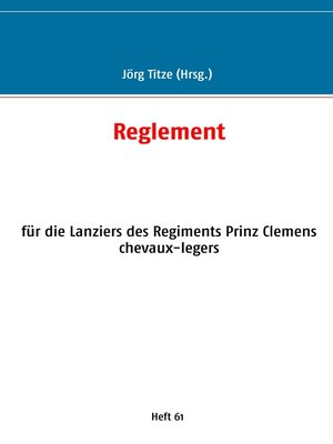 cover image of Reglement