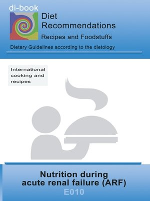 cover image of Nutrition during acute renal failure (ARF)