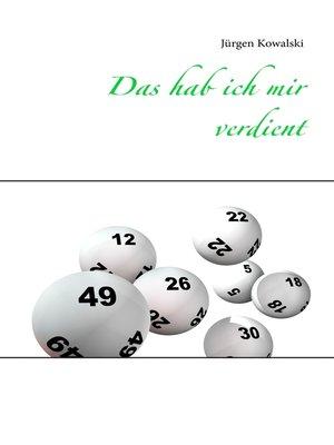cover image of Das hab ich mir verdient