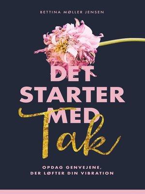 cover image of Det starter med Tak