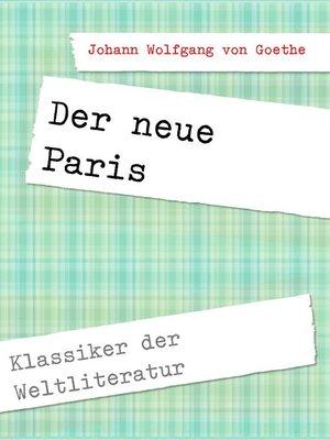 cover image of Der neue Paris