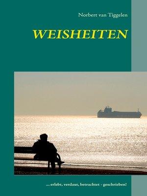 cover image of Weisheiten