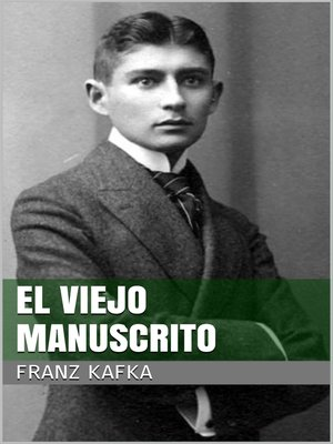 cover image of El viejo manuscrito