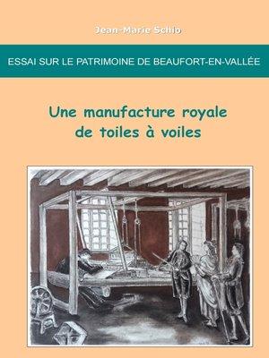 cover image of Essai sur le patrimoine de Beaufort-en-Vallée