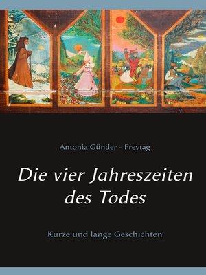 cover image of Die vier Jahreszeiten des Todes