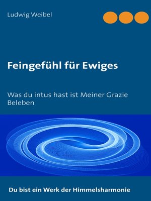 cover image of Feingefühl für Ewiges
