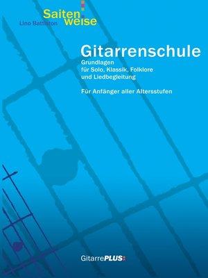 cover image of Gitarrenschule Saitenweise
