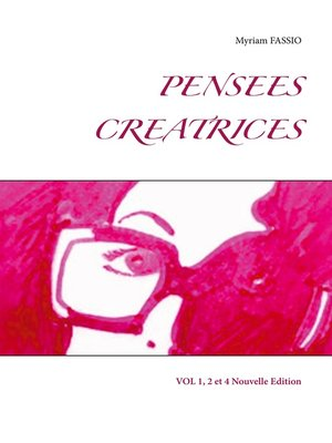 cover image of PENSEES CREATRICES