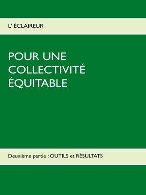 cover image of Deuxième partie: OUTILS et RÉSULTATS