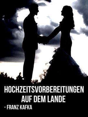 cover image of Hochzeitsvorbereitungen auf dem Lande