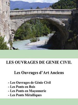 cover image of Les ouvrages de génie civil