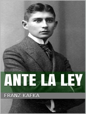 cover image of Ante la ley