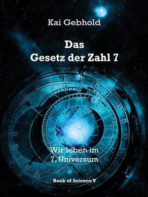 cover image of Das Gesetz der Zahl 7