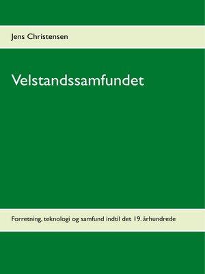cover image of Velstandssamfundet