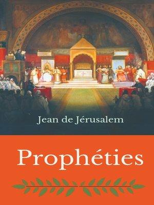 cover image of Prophéties