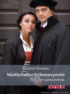 cover image of Martin Luther Frihetens profet