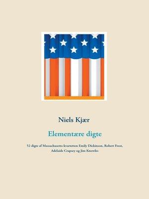 cover image of Elementære digte