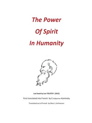 cover image of The Power of Spirit in Humanity