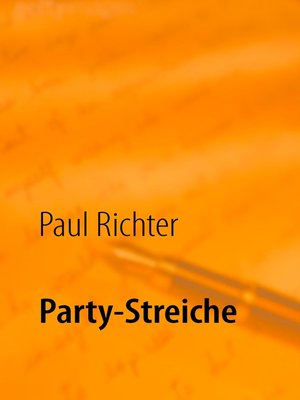 cover image of Party-Streiche