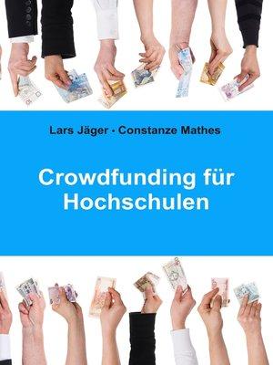 cover image of Crowdfunding für Hochschulen