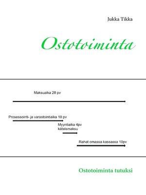 cover image of Ostotoiminta