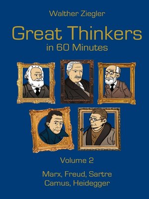 cover image of Great Thinkers in 60 Minutes, Volume 2