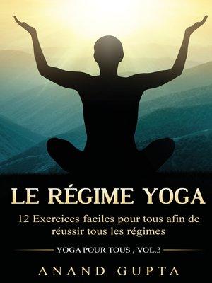 cover image of Le régime Yoga