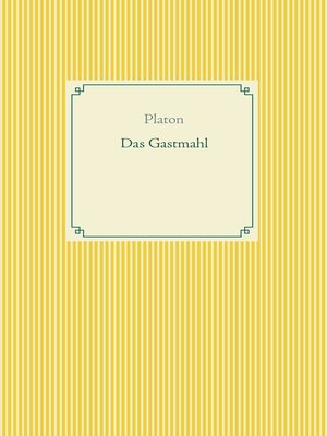 cover image of Das Gastmahl