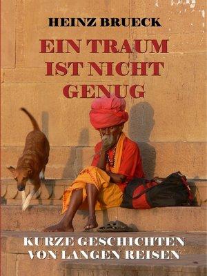 cover image of Ein Traum ist nicht genug