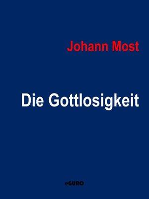 cover image of Die Gottlosigkeit