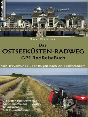 cover image of Das Ostseeküsten-Radweg GPS RadReiseBuch