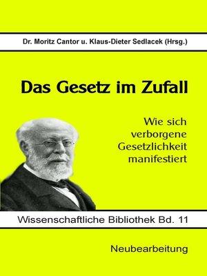 cover image of Das Gesetz im Zufall