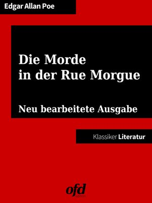 cover image of Die Morde in der Rue Morgue