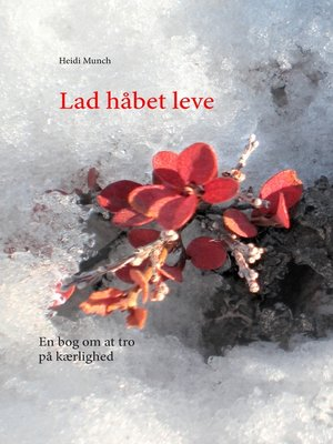 cover image of Lad håbet leve