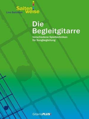 cover image of Die Begleitgitarre