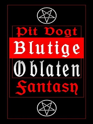 cover image of Blutige Oblaten