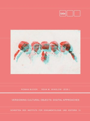 cover image of Versioning Cultural Objects
