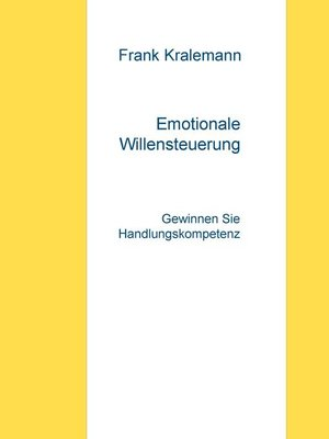 cover image of Emotionale Willensteuerung