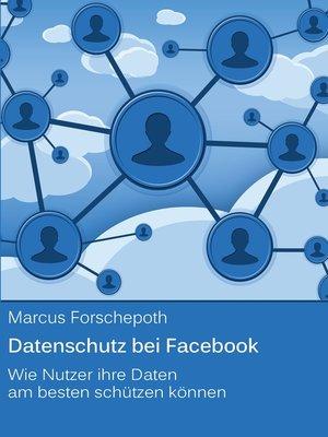 cover image of Datenschutz bei Facebook
