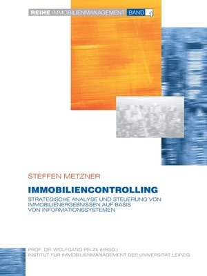 cover image of Immobiliencontrolling