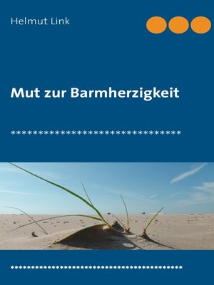 cover image of Mut zur Barmherzigkeit