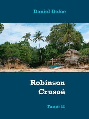 cover image of Robinson Crusoé