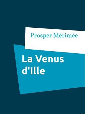 cover image of La Venus d'Ille