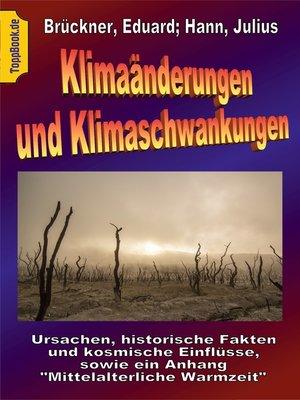 cover image of Klimaänderungen und Klimaschwankungen