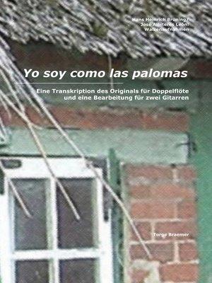 cover image of Yo soy como las palomas
