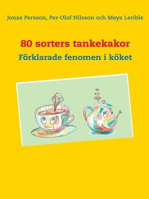 cover image of 80 sorters tankekakor