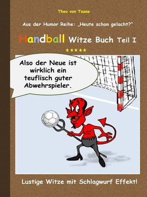 cover image of Handball Witze Buch--Teil I